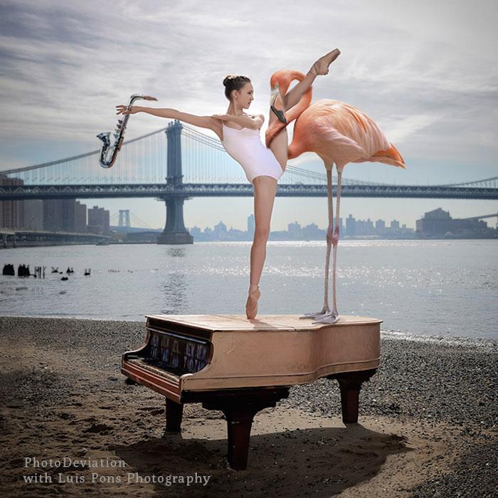BALLERINA'S PIANO CLASS by JJ JORDAN